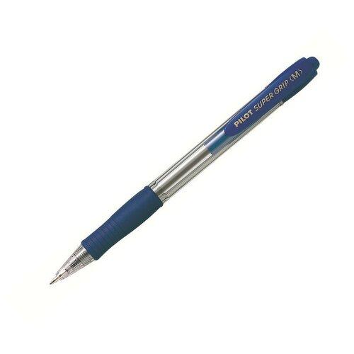Купить Ручка шариковая автоматическая PILOT BPGP-10R-M-L резин.манжет.син 0, 25мм 3 штуки, Ручки