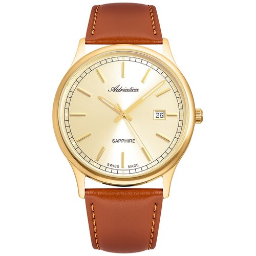Фото - Часы наручные швейцарские мужские Adriatica A1293.1B11Q мужские часы adriatica a1246 5217q