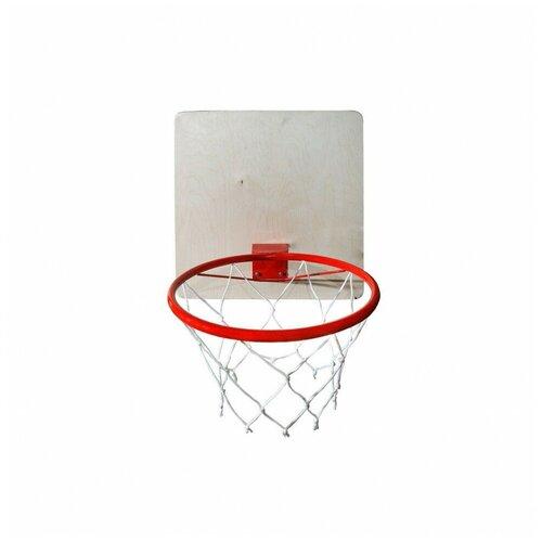 Кольцо баскетбольное с сеткой d=295 мм