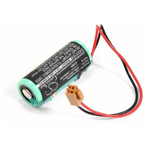 Фото - Батарейка Sanyo A02B-0200-K102, A98L-0031-0012 (Li-MnO2) батарейка для allen bradley 1756 bata 1756 batm li mno2