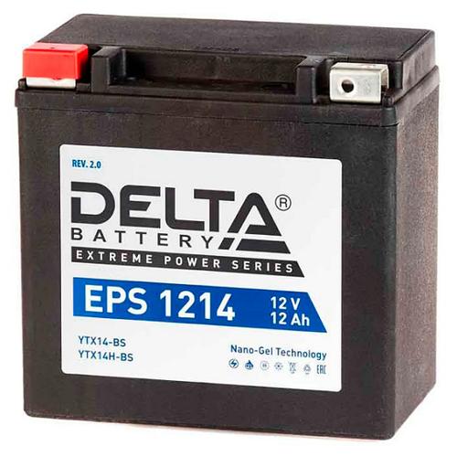 Аккумулятор мото Delta EPS1214 NANO-GEL аккумулятор delta battery gel 12 55