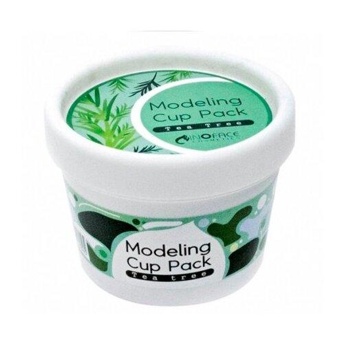 Альгинатная маска для лица Inoface Teatree Modeling Cup Pack 15 гр inoface альгинатная маска yoghurt modeling 15 г