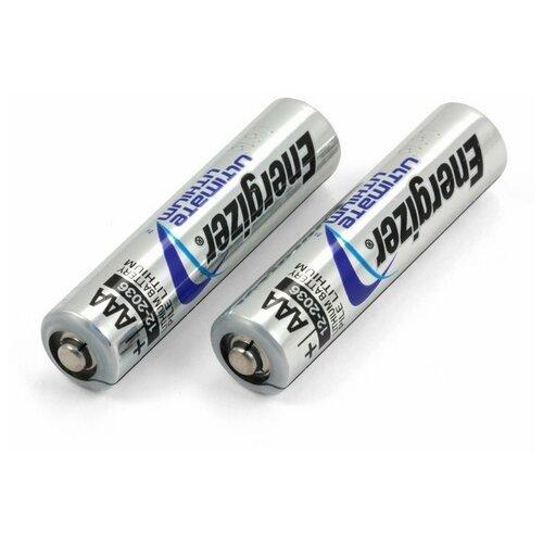 Фото - Батарейки литиевые Energizer LR03 (AAA) Ultimate Lithium (2 шт) батарейка energizer ultimate lithium aa 4 шт