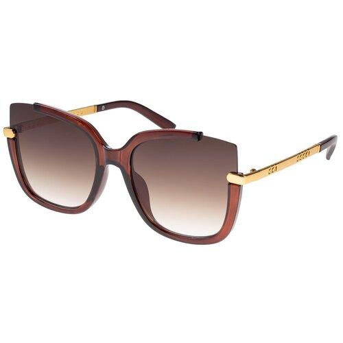 солнцезащитные очки Солнцезащитные очки женские/Очки солнцезащитные женские/Солнечные очки женские/Очки солнечные женские/21kdgara1308687c2vr коричневый/Vittorio Richi/Бабочки/Стрекозы/модные
