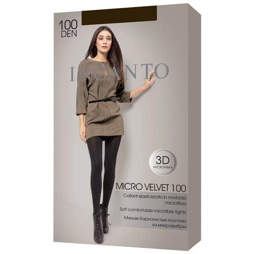 Колготки Incanto Micro Velvet, 100 den, размер 5-XL, moka (коричневый)