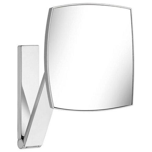 зеркало косметическое настенное keuco bella vista 17605019000 с подсветкой Зеркало косметическое настенное KEUCO iLook_ move (17613010000) хром