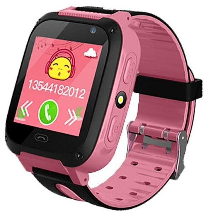 Умные GPS часы для детей G700S , камера, GSM,(розовый) — купить по выгодной цене на Яндекс.Маркете