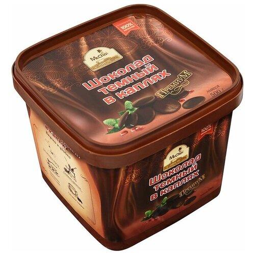 Шоколад Mr. Cho темный в каплях, 500 г недорого