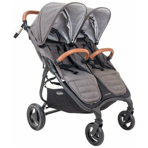 Прогулочная коляска для двойни Valco Baby Snap Duo Trend, charcoal недорого