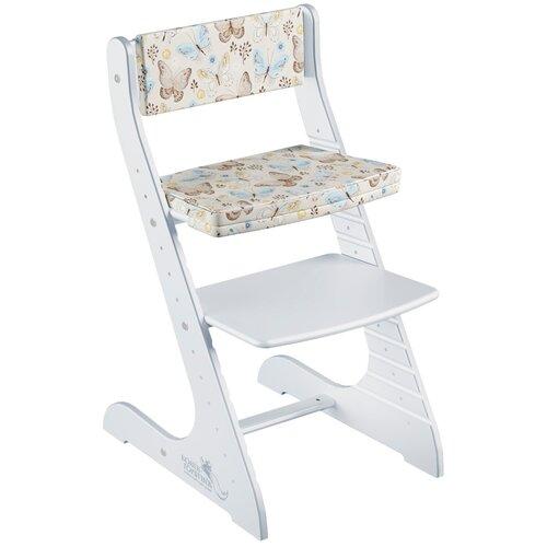 Купить Комплект подушек на стул СТАНДАРТ, цвет Бабочки, Конек Горбунёк, Стульчики для кормления