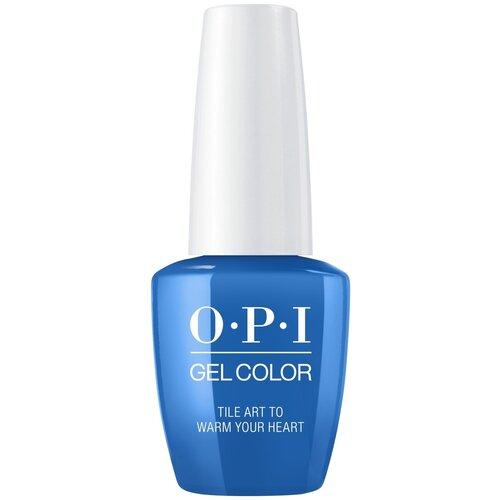 Купить Гель-лак для ногтей OPI GelColor Lisbon, 15 мл, Tile Art to Warm Your Heart