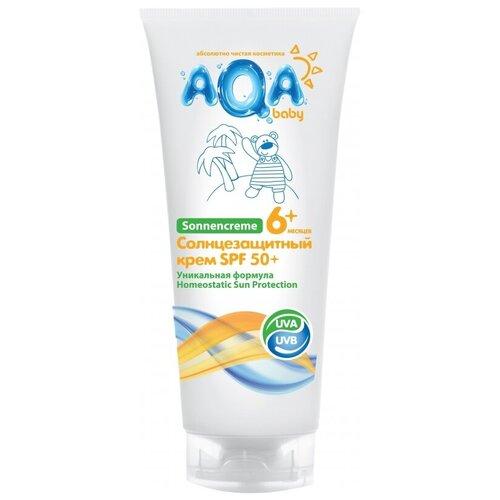 AQA baby Солнцезащитный крем SPF 50 75 мл недорого