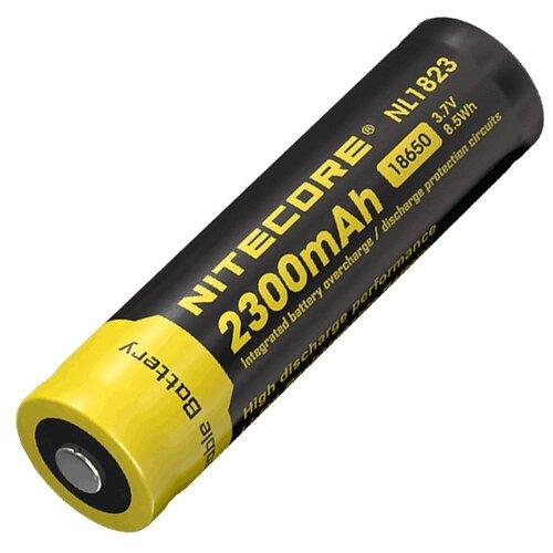 Фото - Аккумулятор Nitecore Rechargeable 18650 Li-Ion 2300 mAh NL1823 аккумулятор незащищенный sanyo ncr18650bf 18650 3400мач 3 7в