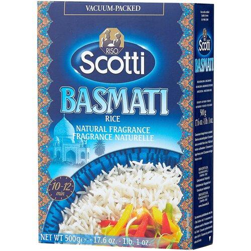 рис riso scotti жасмин шлифованный длиннозерный 500 г Рис Riso Scotti Басмати Индийский рис 500 г