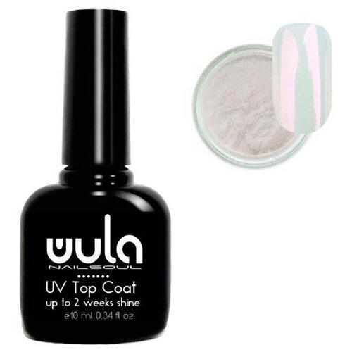 Купить Набор: набор для дизайна WULA Топ и жемчужная втирка №02
