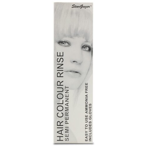 Краситель прямого действия StarGazer Hair Color Rinse White, 70 мл  - Купить