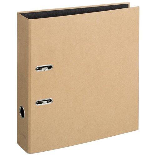 Купить Attache Папка-регистратор Loft А4, картон, 75 мм бежевый, Файлы и папки