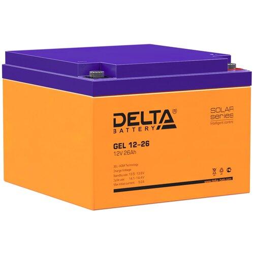 Аккумулятор DELTA Battery GEL 12-26 аккумулятор delta battery gel 12 55