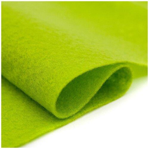 Купить 61212630 Фетр для творчества, светло-зеленый, 2мм, 20x30см, уп./1шт. Glorex, Валяние