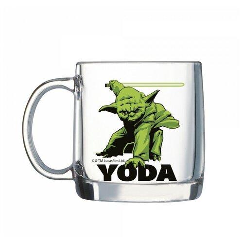 Кружка ОСЗ Нордик Star Wars Yoda, 380 мл, прозрачный
