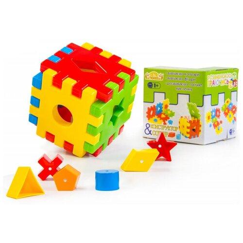 Сортер Тигрес Волшебный куб 12 элементов сортер red box активный куб