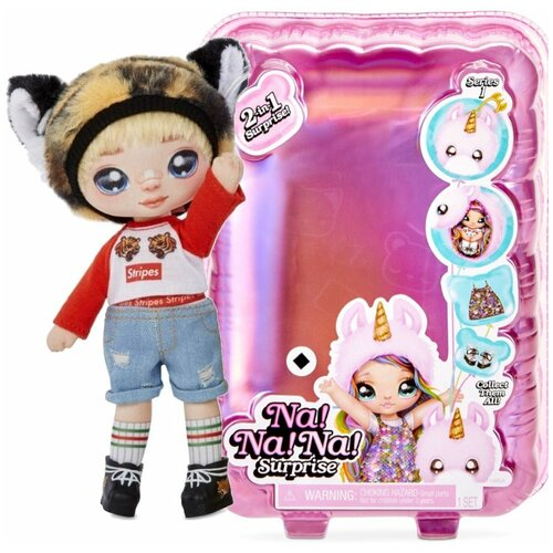 Кукла Na! Na! Na! Surprise 2-in-1 CJ Cuddles, 22 см, 565983 недорого
