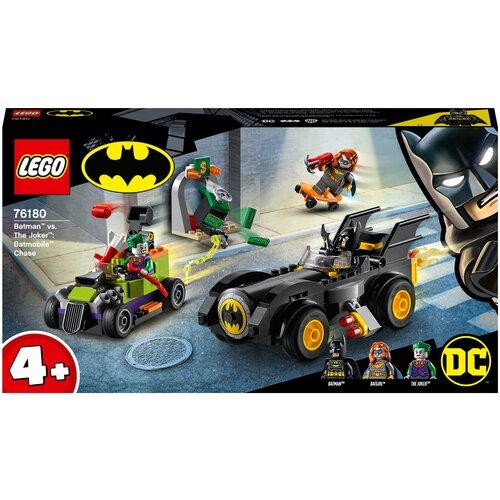 Купить Конструктор LEGO DC Comics Super Heroes 76180 Бэтмен против Джокера: погоня на Бэтмобиле, Конструкторы