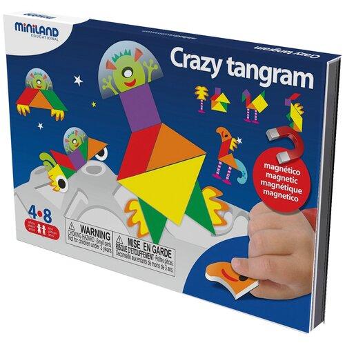 Головоломка Miniland Танграм Crazy Tangram (31965)