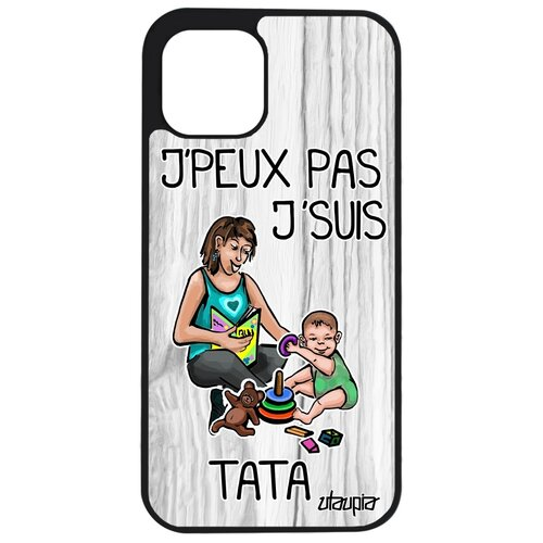 "Чехол на Apple iPhone 12 pro max, ""Не могу - стала тетей!"" Семья Комикс"