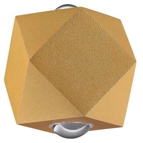 Уличный настенный светодиодный светильник Odeon Light Diamanta 4220/4WL настенный светильник odeon light diamanta 4220 4wl