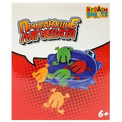 Фото - Настольная игра Играем вместе Прыгающие лягушата настольная игра играем вместе лягушки
