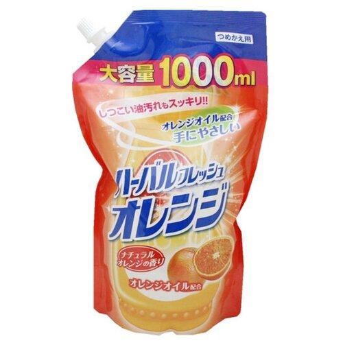Mitsuei Средство для мытья посуды Апельсин, 1 л недорого