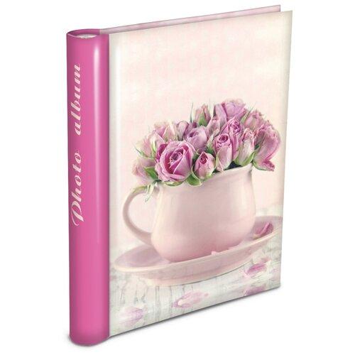 Фотоальбом Pioneer Delicate flowers 64481/LM-SA30, 30 фото, 23 х 28 см, розовый