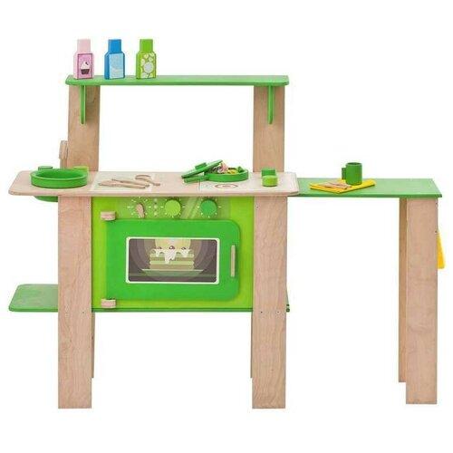 Кухня PAREMO PK115 зеленый/коричневый