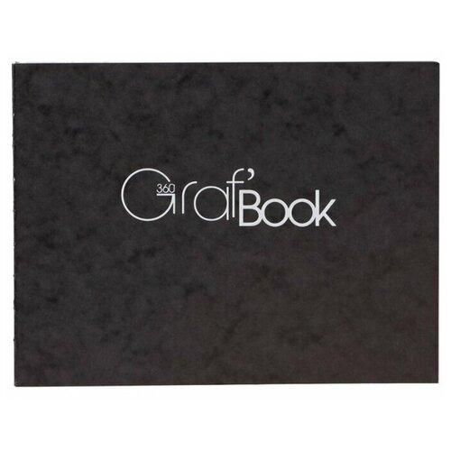 Купить Скетчбук Clairefontaine Graf'Book 360° 21 х 14.8 см (A5), 100 г/м², 100 л., Альбомы для рисования