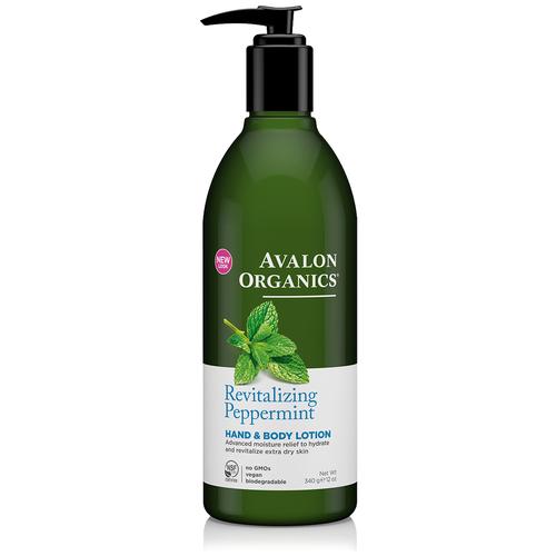 пальто avalon avalon mp002xw0dnxj Лосьон для тела Avalon Organics Revitalizing Peppermint, 340 г