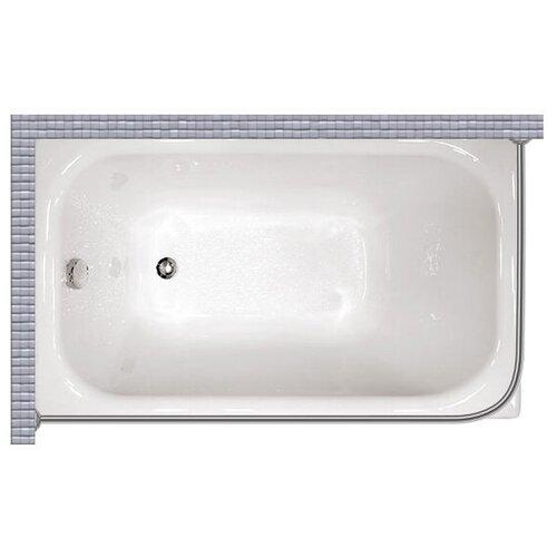 """Карниз для ванной (Штанга) """"усиленный 20"""" Triton лиза 120x70 Г-образный, угловой"""