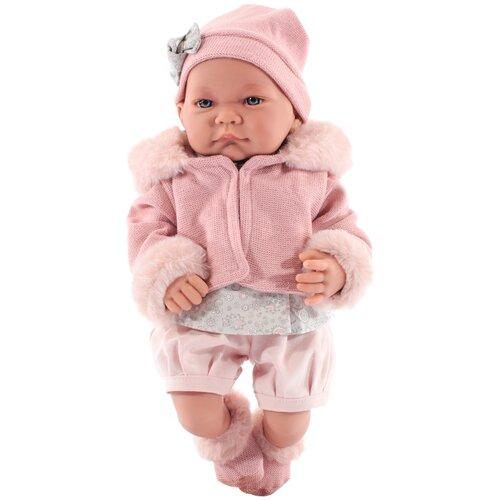 Фото - Кукла Antonio Juan Наталия в розовом, 40 см, 3378P кукла antonio juan антония в розовом 40 см 3376p