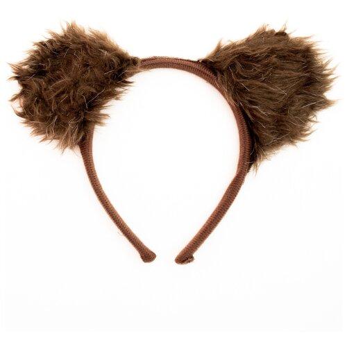 Фото - Ушки бурого медведя на обруче костюм бурого медведя размер 46 48 11715