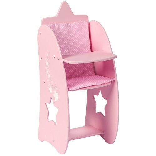 Фото - PAREMO Стульчик для кормления кукол Звездочка (PFD120-64/PFD120-66) розовый paremo набор мебели для кукол цветок pfd120 45 pfd120 46 pfd120 44 pfd120 42 pfd120 43 белый фиолетовый