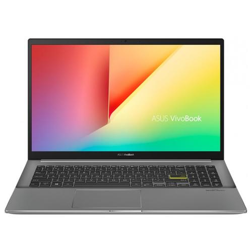 "Ноутбук ASUS VivoBook S15 S533EQ-BN141R (Intel Core i7 1165G7 2800MHz/15.6""/1920x1080/16GB/512GB SSD/NVIDIA GeForce MX350 2GB/Windows 10 Pro) 90NB0SE3-M03300 Indie Black & Grey"