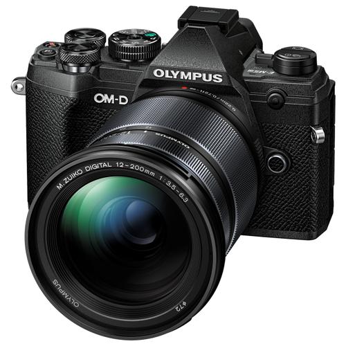 Фотоаппарат Olympus OM-D E-M5 Mark III Kit черный M.Zuiko Digital 12-200mm F/3.5-6.3