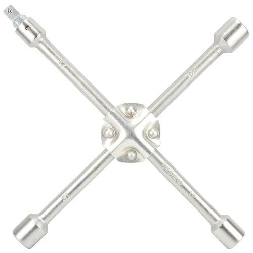 Фото - Баллонный ключ крестообразный АвтоDело 34418 баллонный ключ прямой автоdело 34241