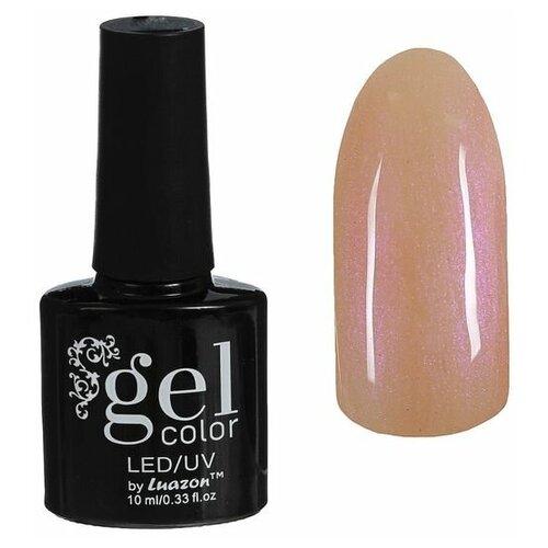 Купить Гель-лак для ногтей Luazon Gel color, 10 мл, В2-076 нежно-розовый перламутр