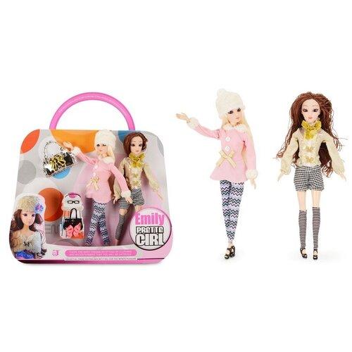 Набор кукол Зимняя прогулка, 28 см, HP1067144