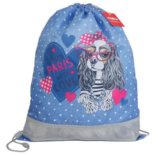 MagTaller Мешок для обуви 1 отделение XL Fashion dog (31013-36) синий/розовый недорого