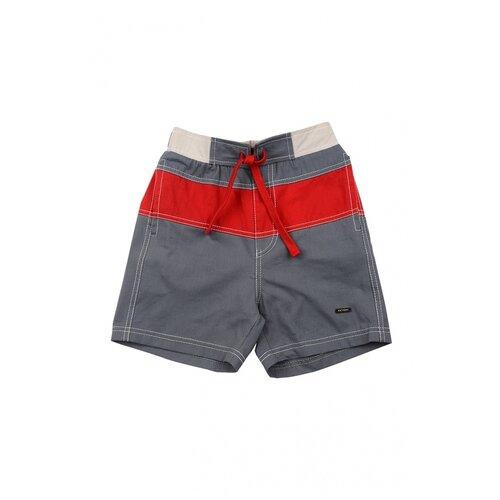 Шорты Fifteen, 4612, цвет красный/серый 4612(2)сер/крас-122 122
