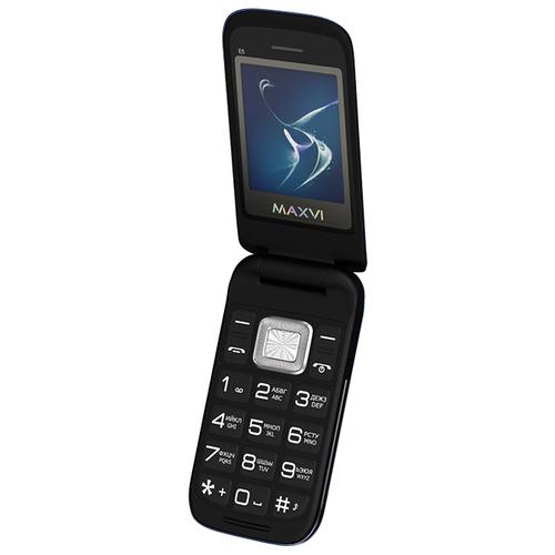 Телефон MAXVI E5 черный