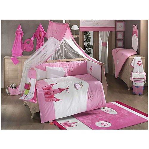 Купить Комплект Kidboo из 6 предметов серии Little Princess (Pink), Постельное белье и комплекты