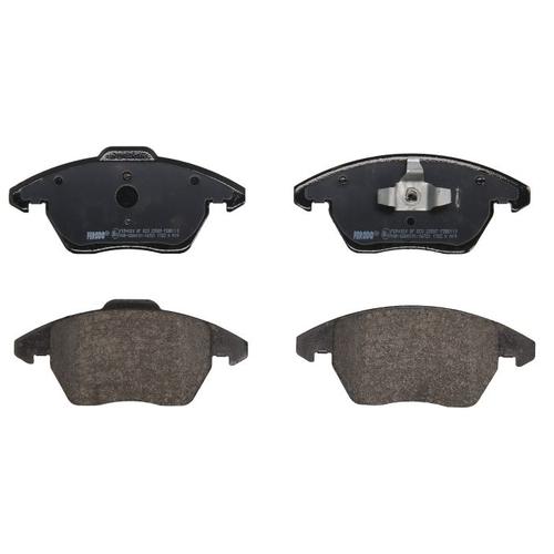 Фото - Дисковые тормозные колодки передние Ferodo FDB5110 для Audi, Volkswagen, SEAT (4 шт.) дисковые тормозные колодки передние ferodo fdb1832 для audi a6 audi a8 volkswagen phaeton 4 шт